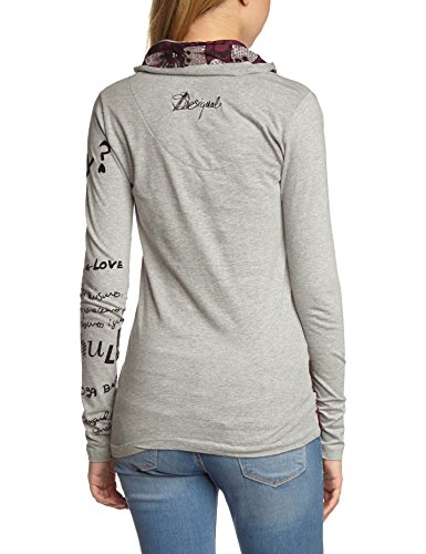 Desigual-Istyle-T-shirt-Manches-longues-Femme-0-0