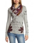 Desigual-Istyle-T-shirt-Manches-longues-Femme-0